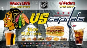 TV Screen Advert Ice Hockey