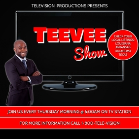 TV SHOW FLYER TEMPLATE