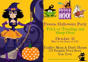 Tween Halloween Party