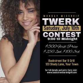 Twerk Contest Advertisement Video