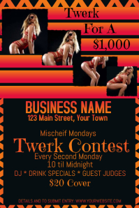 Twerk Contest Advertising