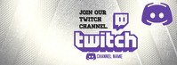 TWITCH Facebook Cover Photo template