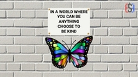 Twitter Butterfly template