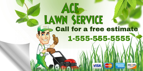 Twitter Lawn Service Template