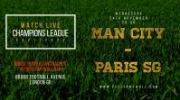 Twitter Post Football Soccer Match Template Iphosti le-Twitter