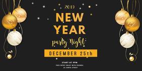 twitter post new year invite Twitter-bericht template