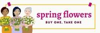 Twitter Spring Flowers Templates Twitter-header