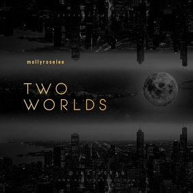 Two Worlds Black and White Mixtape Cover