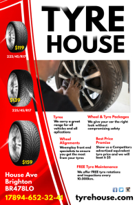 Tyre House Poster