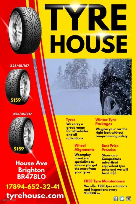 Tyre House Video Advert