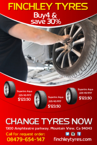 Tyres Services Poster