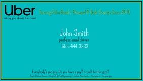 Uber Business Card