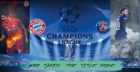 UEFA Facebook Shared Image template