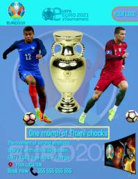 UEFA EURO 2021 FLYER template