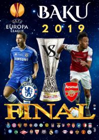 UEFA League Final 2019 poster