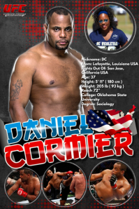 UFC poster