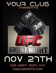 UFC FLYERS