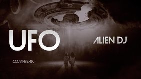 UFO Alien Youtube Thumbnail