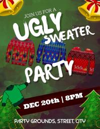 Ugly sweater Party Iflaya (Incwadi ye-US) template