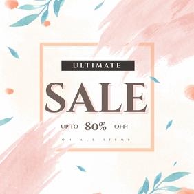 Ultimate Sale Instagram Post