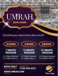 Umrah Grand Travel Package Agency Flyer