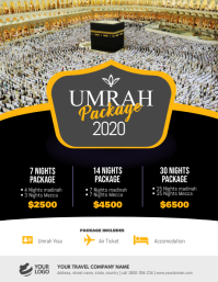 Umrah Hajj Package Flyer Poster