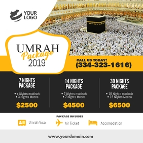 Umrah Hajj Package Instagram Post