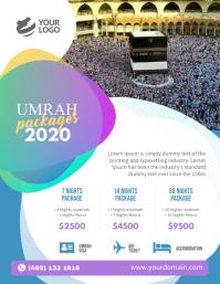 Umrah Package flyer Poster