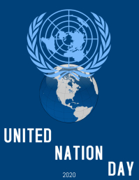UN DAY Flyer (format US Letter) template