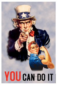 Uncle Sam Vintage Poster Template