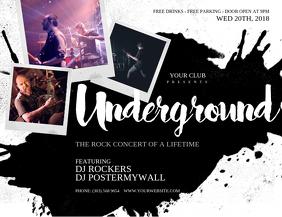 Underground Flyer