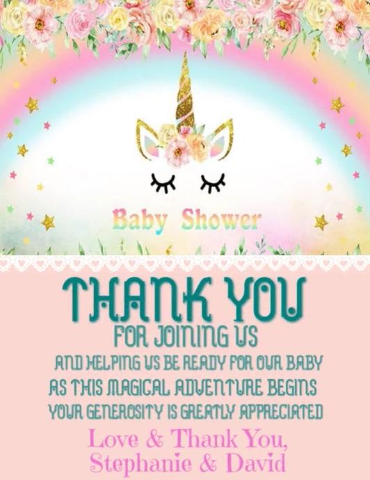 Unicorn Baby Shower 2
