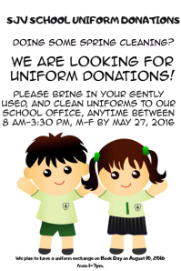 UNIFORM FLYER