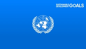 United Nations Day 2020 Template Ikhava Yevidiyo ye-Facebook (16:9)