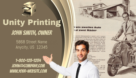Unity Printing Business Card