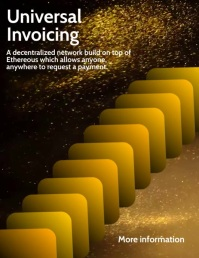 Universal Invoicing Network Template Flyer (US Letter)