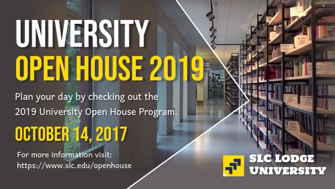 University Open House Video Template