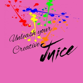 Unleash your creative juice