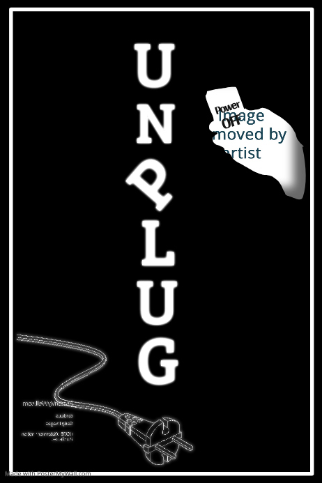 Unplug Poster Template