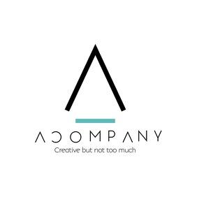 Up and down minimal creative logo