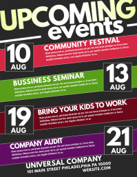 customize 25 160 event flyer templates postermywall