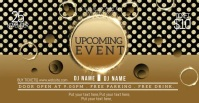 upcoming event posters Facebook-annonce template