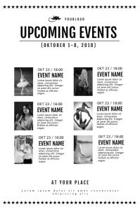 Upcoming Event schedule calendar