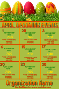 Upcoming Events - April