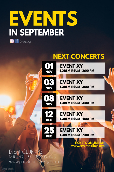 upcoming events concerts Plays Festival next