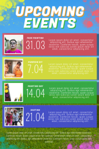 Upcoming Events Monthly for kids