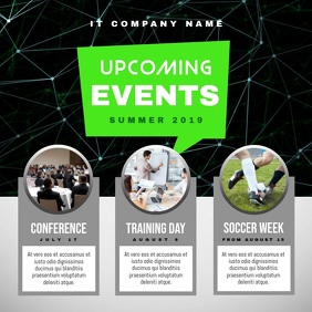 Upcoming Events Schedule Square Video