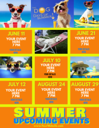 Upcoming Events Summer Dog Days
