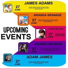 UPCOMING EVENTS TEMPLATE โลโก้