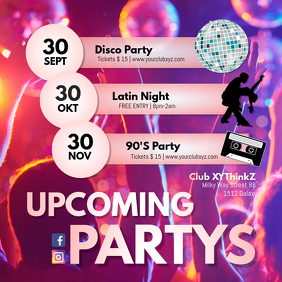 Upcoming Partys Events Promotion Events Dates